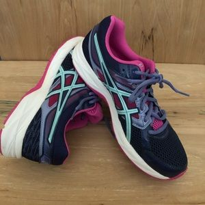 Asics Gel-Contend 3 Mesh Lace-Up Running Shoes